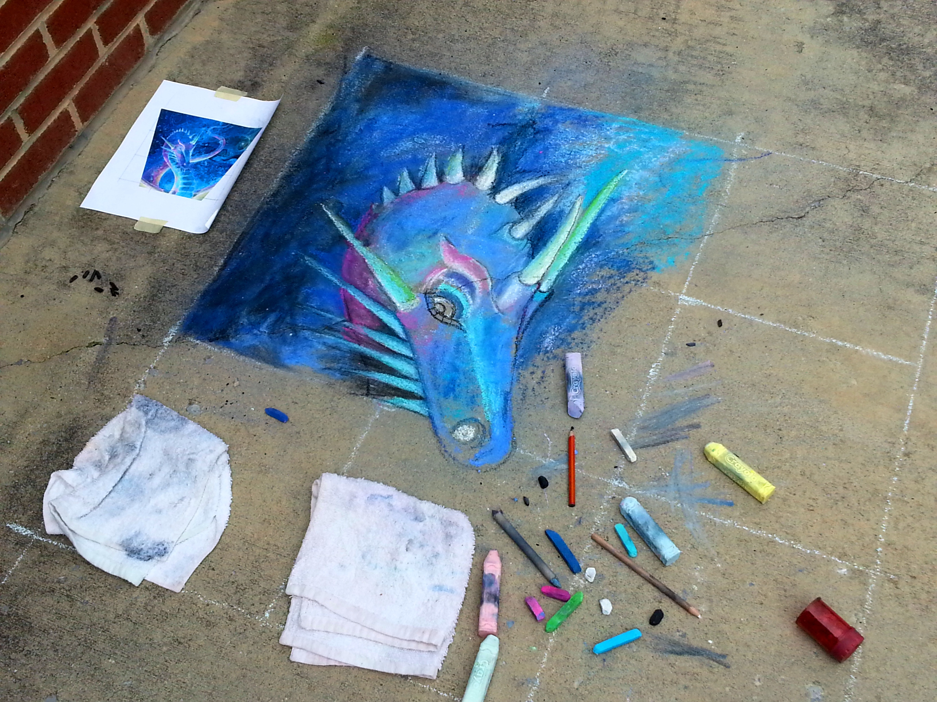 Ladonna's Chalk Dragon1